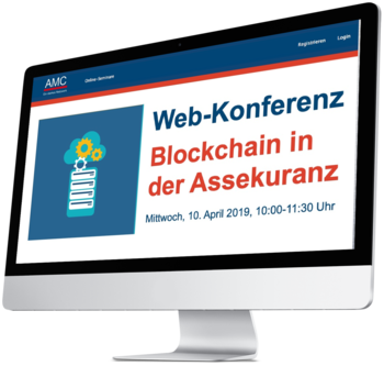 AMC-Webkonferenz Blockchain in der Assekuranz