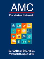 Broschüre: AMC-Veranstatungen 2019