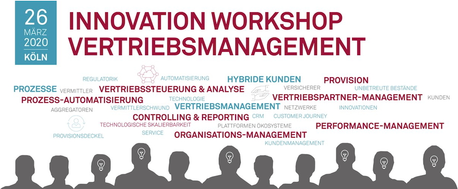 msg: Innovation Workshop Vertriebsmanagement 26.03.2020