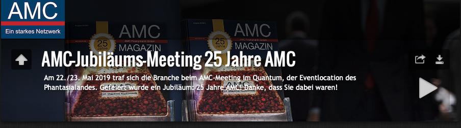 Impressionen: 25 Jahre AMC
